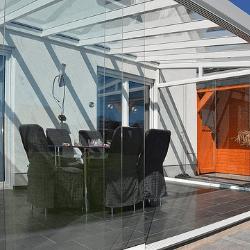 panneaux de verre coulissant SF20