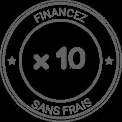 Financez sans frais - 10 fois - Espace Stores